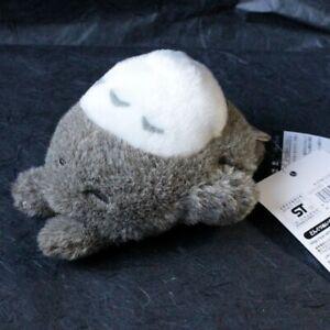 OFFICIAL Sleepy Totoro Small Grey Plush - NEW