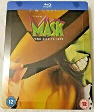 THE MASK ZAVVI UK EXCLUSIVE STEELBOOK BLU-RAY NEW & SEALED