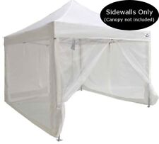 10x10 Pop Up Canopy Tent Mesh Sidewalls Screen Room Mosquito Net Sidewalls ONLY