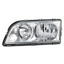 NEW HEAD LAMP LIGHT CHROME WITHOUT MOTOR for VOLVO S40 V40 1998 - 2000 LEFT LH