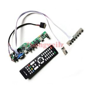 For NT156WHM-N10/NT156WHM-N50 LVDS panel 1366*768 40 pin TV controller board kit