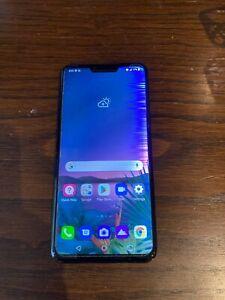 LG G8 ThinQ 128GB - Aurora black - LMG820UM - Unlocked Smartphone