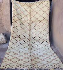 Gorgeous, old Beni Ouarain Ourain rug  381 x 200 cm