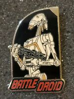 Pre- Disney Star Wars pin htf rare Episode 1 Battle Droid Roger lucasfilm t61