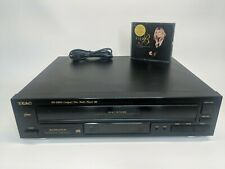 Teac Model Pd-D850 Cd Multi-Disc Player, 5-Disc Tested No Remote 2 Cds Invluded