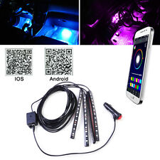 Colorful SmartPhone APP Controller Car Atmosphere Interior LED Floor Strip Light