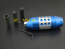 Universal Aluminum Blue 4 5 6 Speed Transmission Shift knob shifter Lever gear