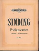 Sinding ~ Frühlingsrauschen - opus 32 Nr. 3