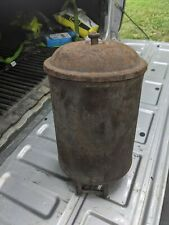 Antique International Harvester corn planter seed cans
