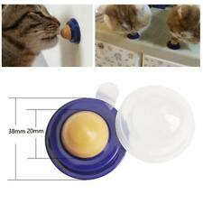 Healthy Cat Snacks Catnip Sugar Candy Licking Solid Nutrition Energy Ball Toys
