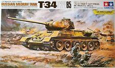 Tamiya  89569 - 1:25 Russian Medium Tank T-34 Type 85 Bausatz / Kit NEU RAR