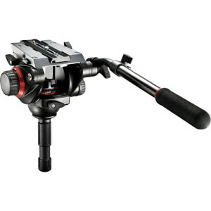 Manfrotto 504HD Pro Fluid Video Head Supports 16.5 lbs (7.5kg)