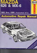 Mazda 626 and MX-6 Automotive Repair Manual by Larry Warren and John Harold...