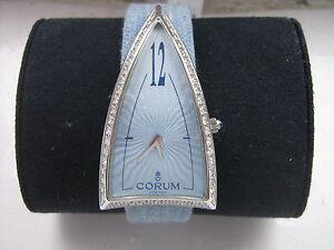 Corum Rocket LADIES STEEL DIAMOND WATCH