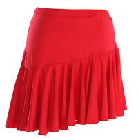 NEW Latin Cha cha salsa Ballroom Dance Mini Skirt #S8100 11 colors available