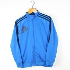 Vintage Women's ADIDAS Blue Tracksuit Top Jacket | Retro Original | Size 12