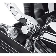 Harley-Davidson Heel/Toe Shifter Shaft End Cover - Chrome for FL and Touring 354