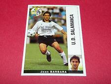 JOAN BARBARA. U.D. SALAMANCA PANINI LIGA 95-96 ESPANA 1995-1996 FOOTBALL