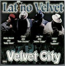 """LATINO VELVET - """"VELVET CITY""""  (RARE '01 40 OZ. RECORDS)  FROST JAY TEE N2DEEP"""