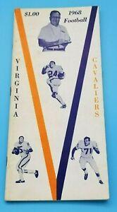 UNIVERSITY VIRGINIA CAVALIERS - COLLEGE FOOTBALL MEDIA GUIDE - 1968