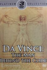 DA VINCI: THE MAN BEHIND THE CODE Platinum Collection 3DVD NEW