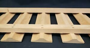 """Under Counter Stemware Glass Holder Rack- Solid Cherry Wood- 36"""" Wide by 12"""" Dee"""