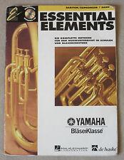Essential Elements für Bariton/Euphonium m. CD. Bd.1 - Tim Lau ... 9043112364