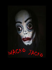 My Ghoul Jackson / Wacko Jacko Handpainted Halloween Horror Mask by Jusmade