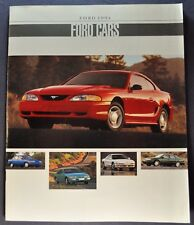 1994 Ford Brochure Crown Victoria Mustang Thunderbird Escort Tempo Taurus Probe