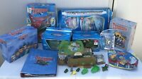 Huge Vintage Thunderbirds Collection Boxed Micro Tracy Island & Diecast Figures