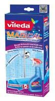 2 x Vileda Magical zur Schmutz/Kalk Vorsorge, Magical Tuch + 2x500ml Flüssigkeit