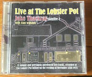 Jake Thackray Live at the Lobster Pot Vol 1 Mint CD RARE!!