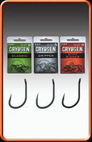 ESP Cryogen Hook Range - All Sizes & Types + free pack of 100 hair rig stops