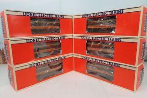 Set Of 6 Lionel O Gauge Aluminum Illinois Central Smooth Side Passenger Cars