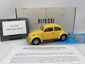 1/24 Franklin Mint 1967 VW Bug Volkswagen Yellow Part # B11SS51