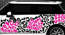 Leopard Pixel Cyber Camouflage XXL Set Auto Aufkleber Sticker Stylin Wandtattoox