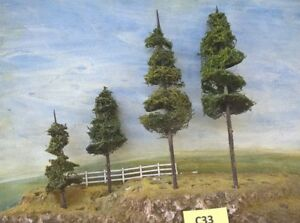 Model  Pine Trees Layout ready NSWGR QGR  train rail HO OO N  lot C33
