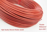 Infrared Underfloor Heating Cable System 3mm Silicone Carbon Fiber Heating Wire