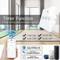 Smart WIFI Touch Schalter Vorhang Schalter Rolladenschalter Jalousieschalter DE