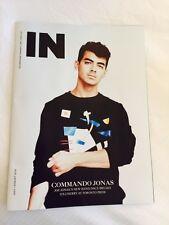 Joe Jonas IN Toronto July 2016 Canada Import Men's Interest Magazine NEW