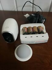 Arlo vmc3030 camera tenergy charger 4 batteries and mount