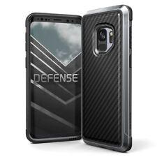 X-Doria Defense Lux Extremschutz Case Carbon Aluminium für Galaxy S9 schwarz