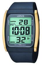 NB LNP R2302HX9 Lorus Unisex Digital Chronograph Resin Strap Watch
