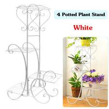 4 Tiers Plant Pot Stand Flower Display Shelf Rack Home Garden Indoor Outdoor