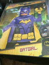 Lego Bat girl Fancy dress costume aged  7-8 (Shelf S)