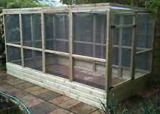 12' x 6' x 6' Walk in run with kickboard, Bird aviary, Cat run, Chicken run5