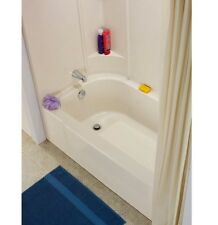 DIY White Bathtub Base Bath Tub Part Repair Kit 141/2-in x 32-in Crack Repair