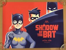 SHADOW OF THE BAT MONDO PRINT BATMAN ANIMATED SERIES PHANTOM CITY CREATIVE #172