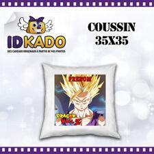 Coussin DRAGON BALL Z personnalisé avec PRENOM  réf:COU-40 décoration chambre