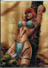 Breygent Red Sonja 3D Lenticular Chase Card RS9